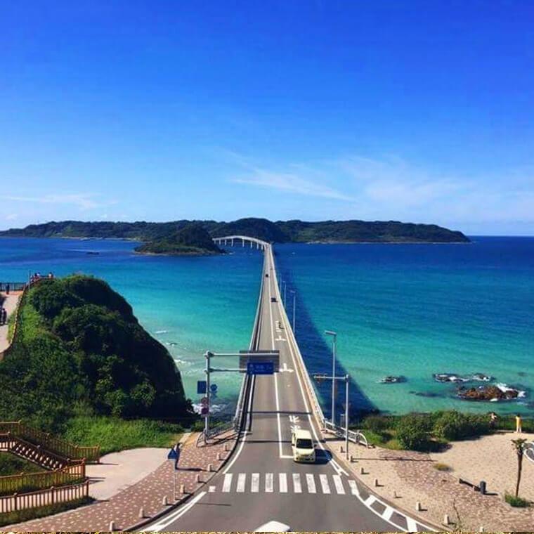 角島大橋のカフェ