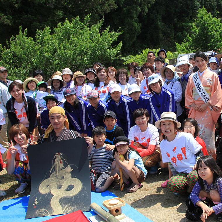 第2回 日本一の田植えフェスティバル